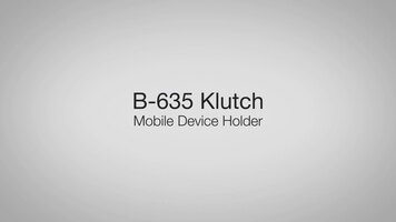 Bobrick's Klutch Mobile Device Holder