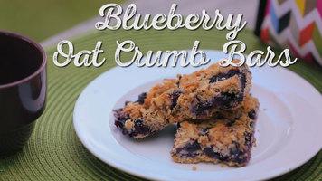 Bob's Red Mill: Blueberry Oat Crumb Bars