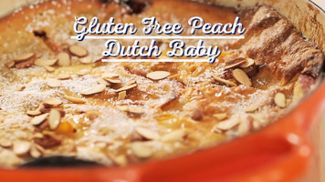 Bob's Red Mill: Gluten Free Peach Dutch Baby