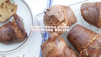 Bob's Red Mill: Honey Whole Wheat Popovers