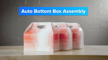 How to Assemble Chicken Box Auto-Bottom Boxes