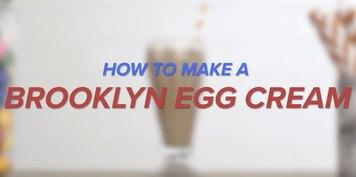 How to Make a Brooklyn Egg Cream