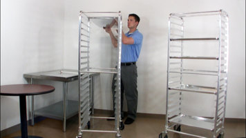 Assembly of a Regency Bun Pan Rack is Quick and Easy