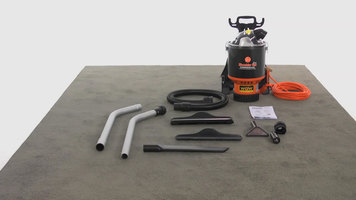 How to Assemble the Hoover Commercial Back Pack Vacuum Cleaner