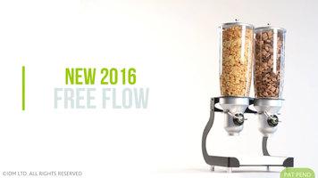 Cal-Mil Free Flow Dispensers