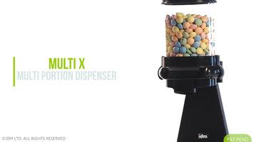 Cal-Mil Pro Portion Topping Dispenser
