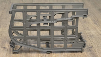 Cambro #10 Can Rack Assembly: Single Rack