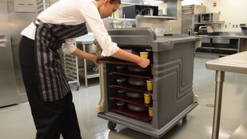 Cambro 10 Tray Delivery Cart