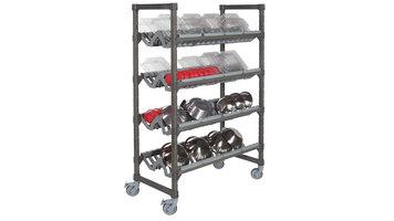 Cambro Camshelving® Angled Drying Rack