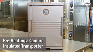 Cambro Insulated Food Carrier: Heating