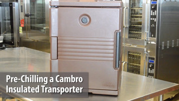 Cambro Insulated Food Carrier: Pre-Chilling