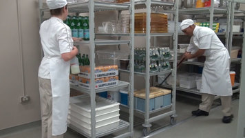 Cambro Camshelving®: High Density Track System