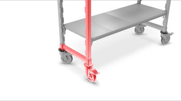 Cambro Camshelving® Premium Series: Casters