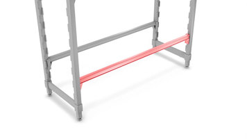 Cambro Camshelving® Premium Series: Traverse Fence Assembly