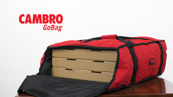Cambro Pizza Delivery Go Bags
