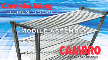 Cambro Elements Series Shelving Assembly