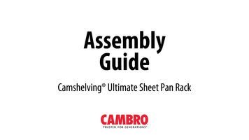 Cambro Ultimate Sheet Pan Rack Assembly