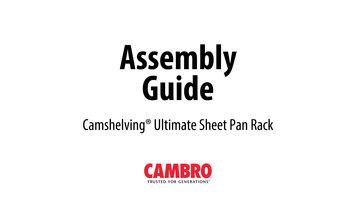 Cambro Ultimate Sheet Pan Rack Assembly