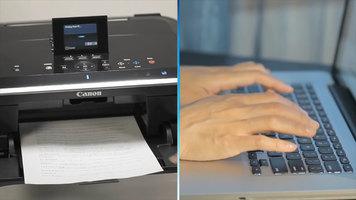 Canon PIXMA Printer: Auto Duplex Printing