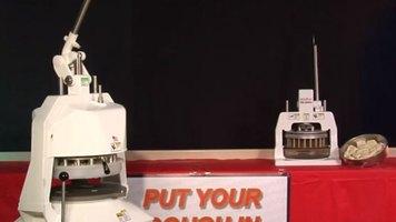 DoughXpress: DX-JN Semi-Automatic Dough Divider/Rounder