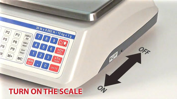 Cardinal Detecto C Series Scales Operation
