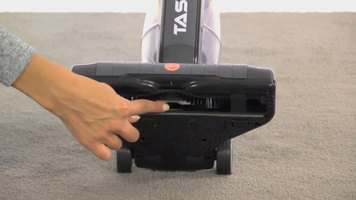 Checking for Clogs on the Hoover Task Vac Cordless Upright Vacuum Cleaner