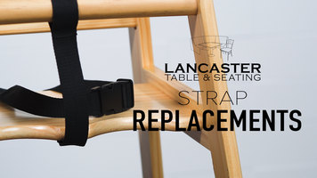 Lancaster Table & Seating: How to Replace Crotch and Seatbelt Straps
