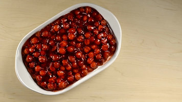 Lucky Leaf Cherry Cheesecake Dip