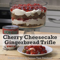 Lucky Leaf Cherry Cheesecake Gingerbread Trifle