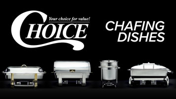 Choice Chafing Dishes
