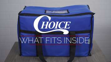 What Fits Inside a Choice Insulated Leak Proof Cooler Bag?