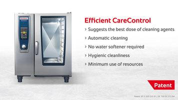 RATIONAL | Clean and descale | Efficient CareControl