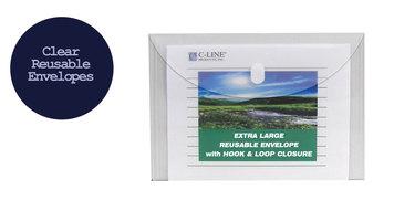 C-Line Products Biodegradable Reusable XL Poly Envelopes