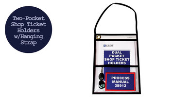 C-Line Products Two Pocket Shop Ticket Holders