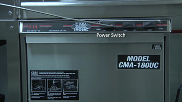 CMA 180UC Undercounter Dishwasher Installation Part 2