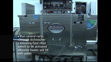 CMA Conveyor Dishwasher Training Part 2