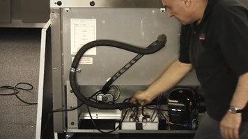 Continental Refrigerator: Electric Condensate Heater Installation