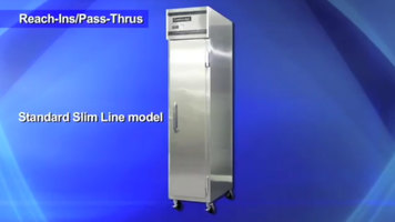 Continental Refrigerator: Slim Line Refrigerators and Freezers