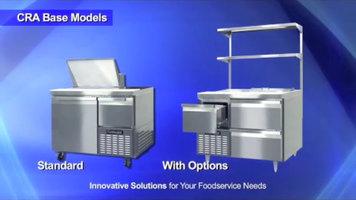 Continental Refrigerator: CRA Series Sandwich Prep Refrigerators