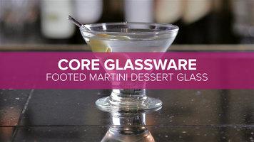 Core Footed Martini Dessert Glass