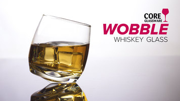 Core Wobble Whiskey Glass