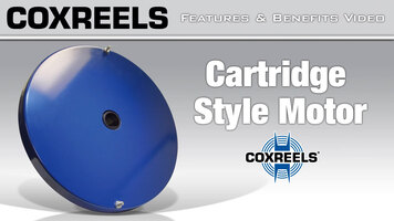 Coxreels Features & Benefits - Cartridge Style Motor