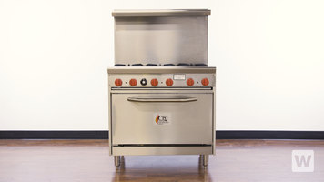 CPG Gas Range with Oven
