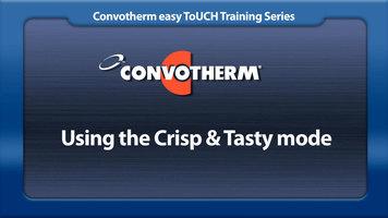 Cleveland Convotherm: Crisp & Tasty Mode