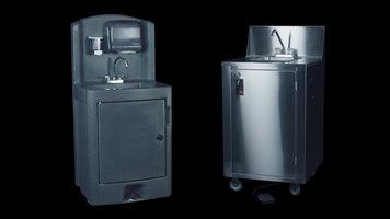 Crown Verity Portable Sinks