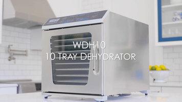 Waring Commercial: WDH10 10-Tray Food Dehydrator