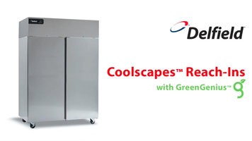 Delfield Coolscapes Reach-In Refrigerators