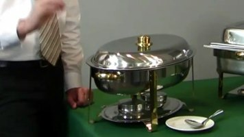 Deluxe Chafing Dishes