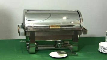 Deluxe Roll Top Chafers