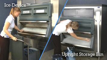 Follett Ice Device vs. Upright Bins